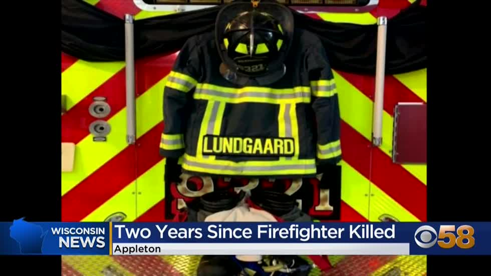 Appleton remembers two-year anniversary of fallen firefighter...